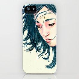 East Wind Girl iPhone Case
