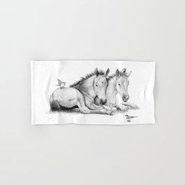 Twin Foals Hand & Bath Towel