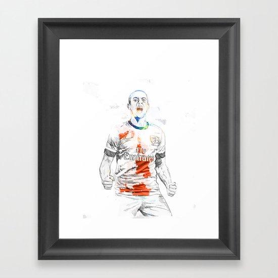 Theo Framed Art Print