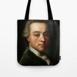 Wolfgang Amadeus Mozart (1756 -1791) portrait Tote Bag