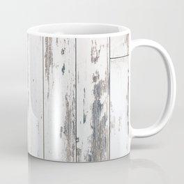 White Wood Coffee Mug