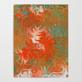 As Luck Would Have It, Abstract Art Poster