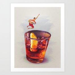 Summer Club Art Print
