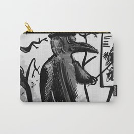 Plague doctor Ink Carry-All Pouch