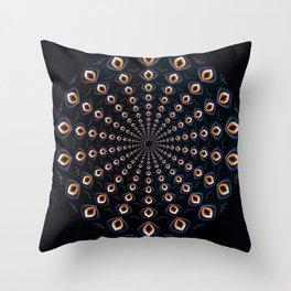 Mystified. Throw Pillow