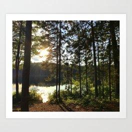 Portage through Algonquin Park, Ontario Art Print