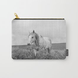 Stormy Walk Horse Photograph Carry-All Pouch