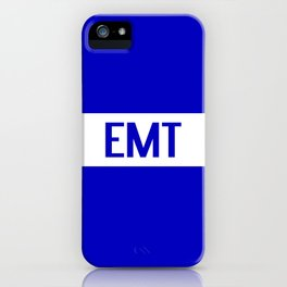 EMT: The Thin White Line iPhone Case