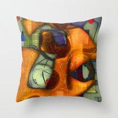 Twiddly Winks    Throw Pillow