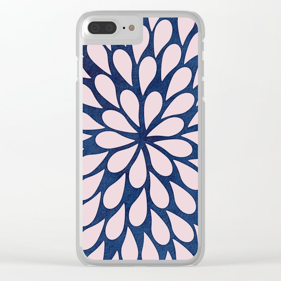 Petal Burst #28 Clear iPhone Case
