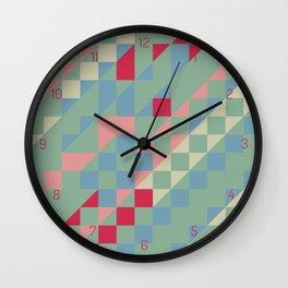 HIP triangles Wall Clock