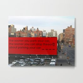 Soon-Park-Car Metal Print