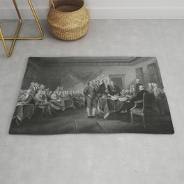 Signing The Declaration of Independence Rug
