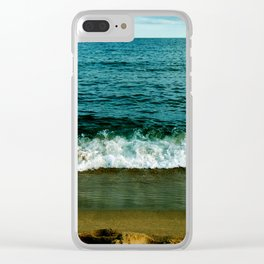 Crash with Colours Clear iPhone Case