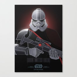 StarWars Villains - Captain Phasma Canvas Print