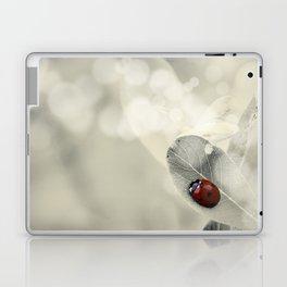 Ladybug in the Snow Laptop & iPad Skin