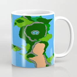 Final Fantasy II Japanese Overworld Coffee Mug