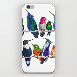 Hum if you Don't Know the Birds iPhone Skin