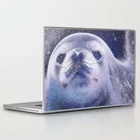 seal Laptop & iPad Skins featuring Seal by Asya Solo