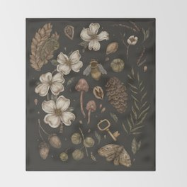 Nature Walks Throw Blanket
