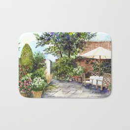 Terrace of The Manor House Bath Mat