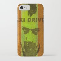 taxi driver iPhone & iPod Cases featuring Taxi Driver by Ganech joe