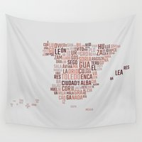 spain Wall Tapestries featuring Spain by eneasmarin