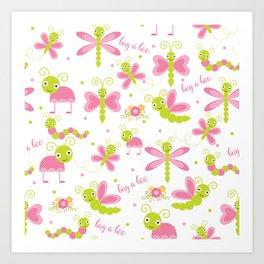 Bug a Boo Art Print