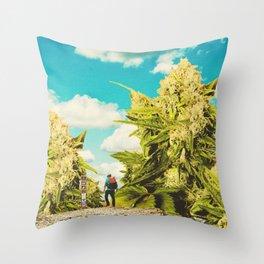 Hiker's Paradise Throw Pillow