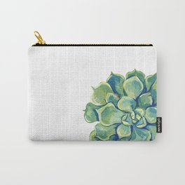 November Succulents Carry-All Pouch