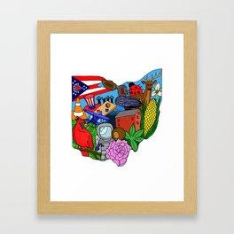 Ohio Framed Art Print