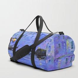 Lilac Night Duffle Bag