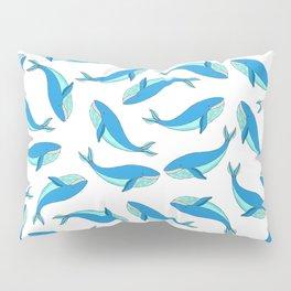 The Blue Whale Pillow Sham