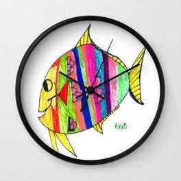 Pompano Wall Clock