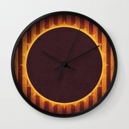 Sun - Solar Eclipse Wall Clock