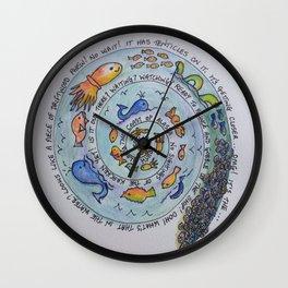 Sail South Wall Clock