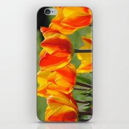 Schöne Tulpen iPhone Skin