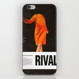 Self Rival iPhone Skin