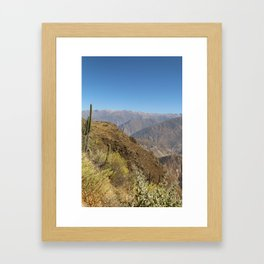 Green Valley Framed Art Print