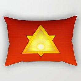 A Golden Dawn Rectangular Pillow