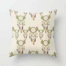 DREAMCATCHERS Throw Pillow