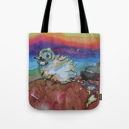 Baby Sea Bird Tote Bag