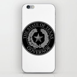 Texas State Governor Seal iPhone Skin