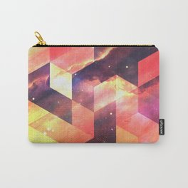 Geometric Fire Carry-All Pouch