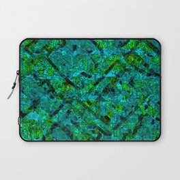 Vitrage (Turquoise) Laptop Sleeve