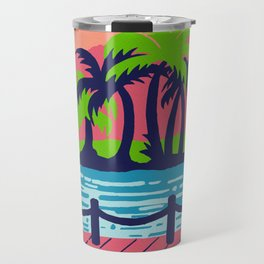 Beach paradise Travel Mug