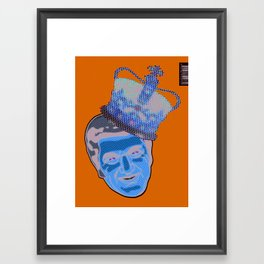 Blue Liberace  Framed Art Print