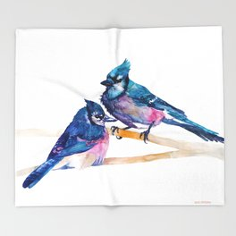 Blue Jays Throw Blanket