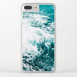 Amalfi Coast Water XV Clear iPhone Case