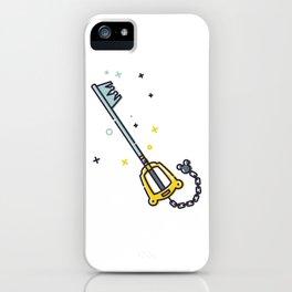 Sora's Keyblade iPhone Case